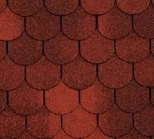 Bitumen roof shingles TANGO SUPER, red Bitumen roof shingles (tiles)