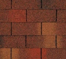 Bitumen roof shingles TRIO SUPER, redi-brown
