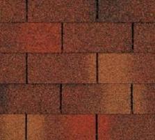 Bituminės čerpės TRIO SUPER, raudonai-ruda Bituminės čerpelės