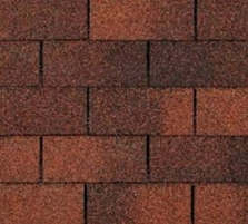 Bitumen roof shingles TRIO SUPER, brown Bitumen roof shingles (tiles)