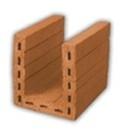 Blokas keraminis sąraminis BSr 20-2 250x200x238 Keraminiai blokeliai