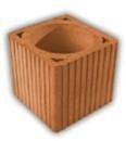 Blokas keraminis ventiliacinis BVt20-2-q16 Keraminiai blokeliai