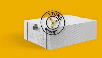Blokeliai YTONG ENERGO (PP2/0.35) S+GT 599x199x480 Akyto betono blokeliai