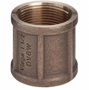 Bronzinė mova VIEGA, d 3/4'', vidus-vidus Nav pārklāti ar bronzas uzmavas