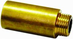 Bronzinis pailginimas VIEGA, d 3/4'', 50 mm Bronzas apsudraboti pārejas