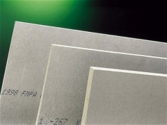 The cement-bonded particle board (Cetris) 1250x3350x18 mm (4,1875 sq.m.) Cement particle board (cdp)