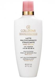Collistar Multivitamin Make-Up Remover Milk Cosmetic 200ml Sejas tīrīšana