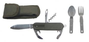 Multifunctional tool su dėkliuku