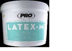 Paint, dispersiniai 'LATEX M' 3l Emulsion paint