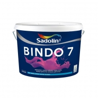 Paint latekso Bindo 7 BW matt 10ltr. Emulsion paint
