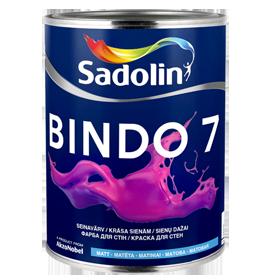 Dažai latekso Bindo 7 BW matiniai 5ltr.