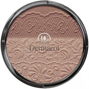 Dermacol DUO Blusher 4 Cosmetic 8,5g Skaistalai veidui