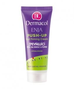 Dermacol Enja Push-Up Bust Firming Cream Cosmetic 75ml Stangrinamosios kūno priežiūros priemonės