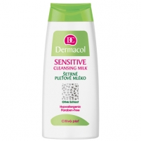 Dermacol Sensitive Cleansing Milk Cosmetic 200ml Sejas tīrīšana