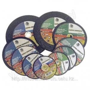Disk.metal.šlif.125x6x22 RBF F27 80m/s Pjovimo diskai