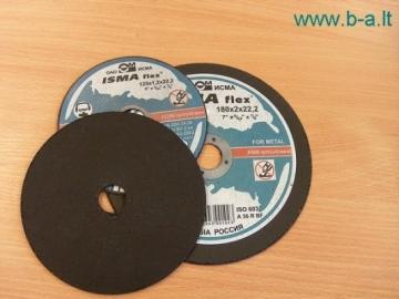 Diskas pjovimo 115x0.8x22 Luga Pjovimo diskai