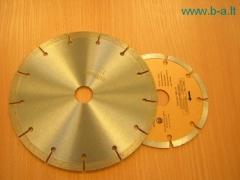 Diskas pjovimo 125x0.8x22 14A Luga Pjovimo diskai