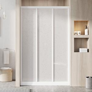 Dušo durys ASDP3-90 Plastic Pearl