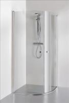 Shower enclosures KATARINA 90x90x1900 chrom. pr. clear st.
