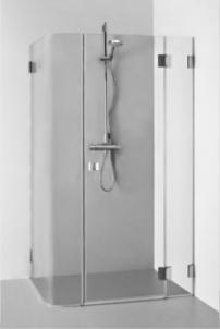 Dušo kabina REGINA PLIUS 1100x900x1900 skaidrus stiklas Dušo kabinos