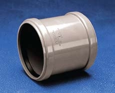 Dviguba mova WAVIN d 50 Internal drain couplings
