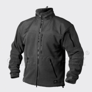 Džemperis vyriškas šiltas juodas Helikon Classic Army