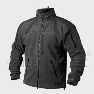 Džemperis vyriškas šiltas juodas Helikon Classic Army Kariški džemperi un džemperi
