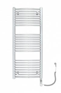 Elektrinis džiovintuvas Omega R electro 50/120, baltas Elektriskie dvieļu turētāji ar savienojumiem