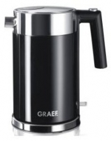 Electric kettle-termosas GRAEF WK62EU, black Electric kettles