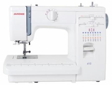 Elektromechaninė siuvimo mašina JANOME 415 Siuvimo mašinos