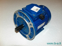 Electric engine 0,37kW/6/B3-B5 Bendrapramoninio use three-phase electric motors
