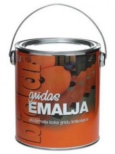Emalis alkidinis grindims Biolar raudonai-rudas 0,8 ltr. Grindų dažai