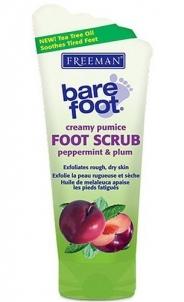 Freeman Foot Scrub Pepermint-Plum Cosmetic 150ml Kojų priežiūros priemonės