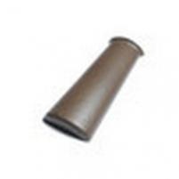 Galinis briaunos gaubtas, P75, pilkas (nedažytas)