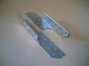 Gegnių sujungimas 170x32,5mm (dešininis) Gegnių sujungimai, cinkuoti