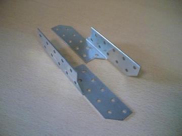 Gegnių sujungimas 170x32,5mm (dešininis) Spāres savienojumos, cinkots