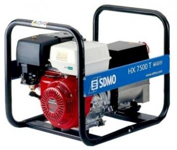 Generatorius SDMO HX 7500T-C Benzininiai elektros generatoriai
