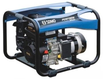 Generatorius SDMO Perform 4500 Benzininiai elektros generatoriai