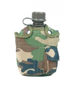 Gertuvė US 1QT woodland Mil-Tec, plastmasinė Outfit, belts, holsters