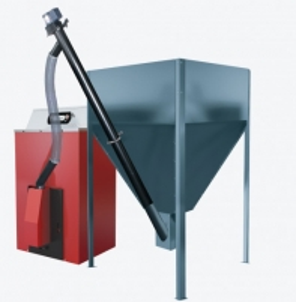 Granulinis šildymo katilas Orligno, 30 kW Granulu katli