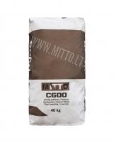 Grindų paklotas/betonas MITTO C600 25kg Ražojumi mūra darbiem javas