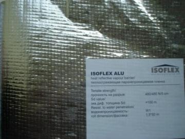 Hidroizoliacinė plėvelė ISOFLEX ALU Condensation film