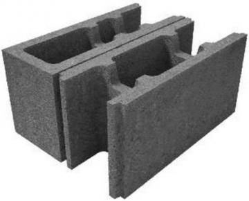 Pamatu un sienu bloki HAUS P6-20 Betona bloki