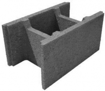 Pamatu un sienu bloki HAUS P6-30 Betona bloki