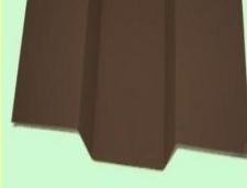 Įlaja viršutinė 80x80x80 mm (poliesteris) spalvotas Komplektavimo detalės metalinei (skardos) dangai