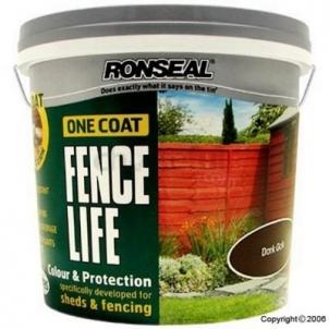 Impregnant One Coat Fencelife 5 ltr. šviesus oak