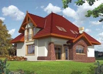 Individualaus namo projektas Adelė Tradiciniai namai