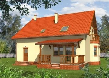 Individualaus namo projektas 'Agnė'