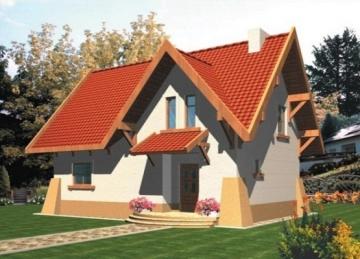 Individual house project 'Aistė'