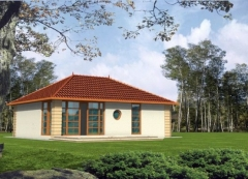 Individual house project 'Aleksandra'